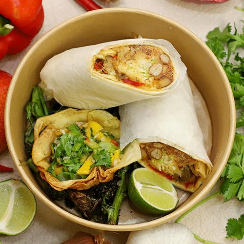 Salsa State Burrito