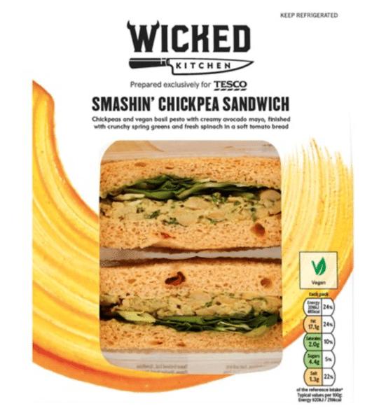 Smashin' Chickpea Sandwich