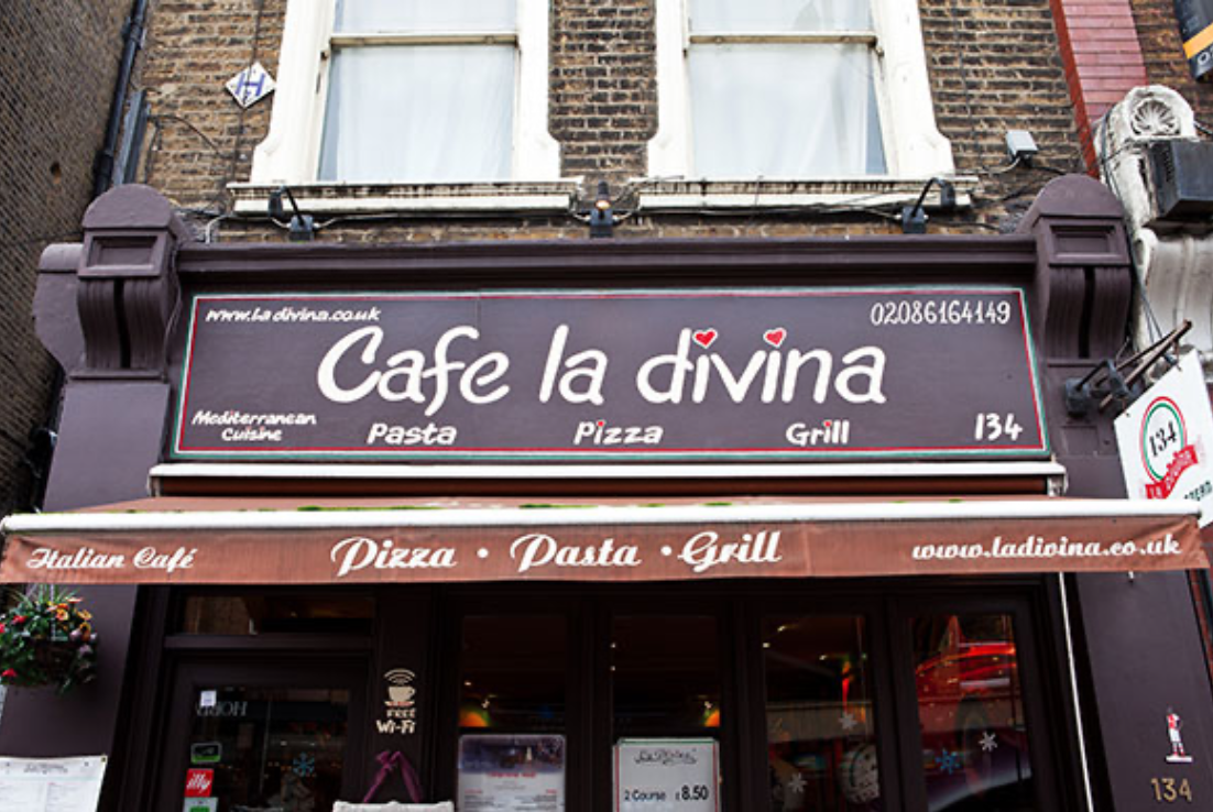 Cafe la divina