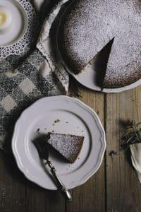 Vegan Chocolate Sponge Cake 1