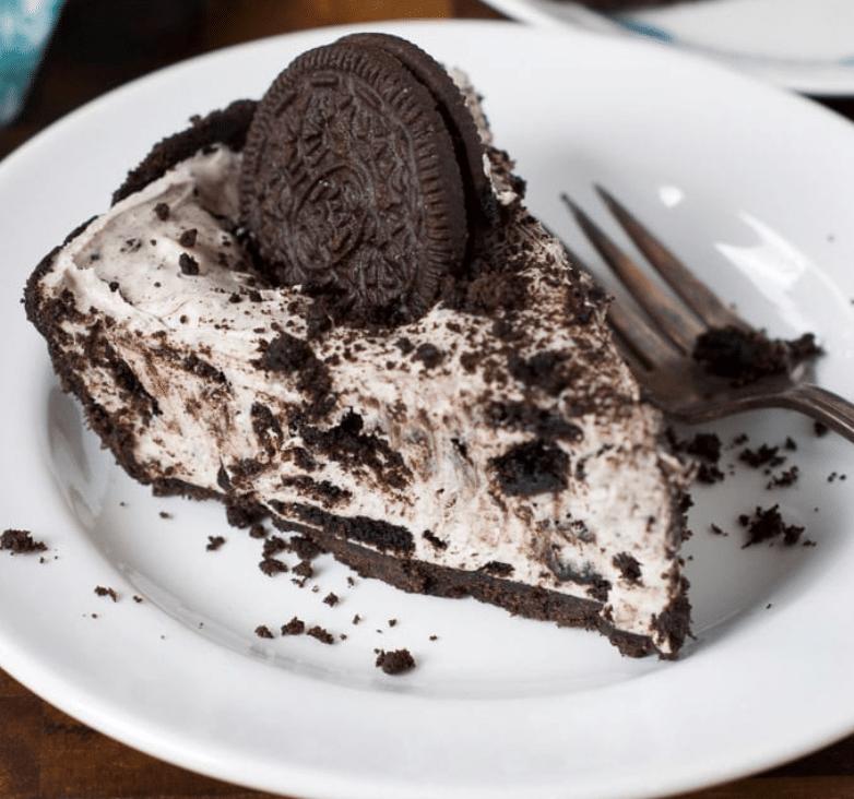 The oreo cheesecake