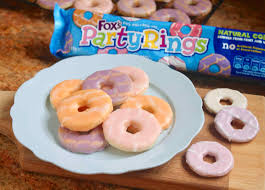 Party Rings vegan biscuits