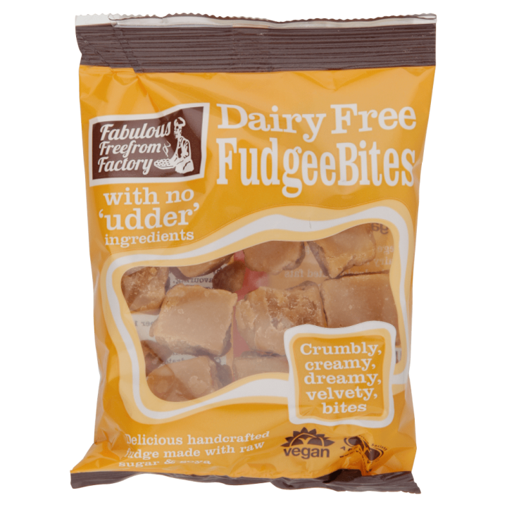 Dairy Free FudgeeBites