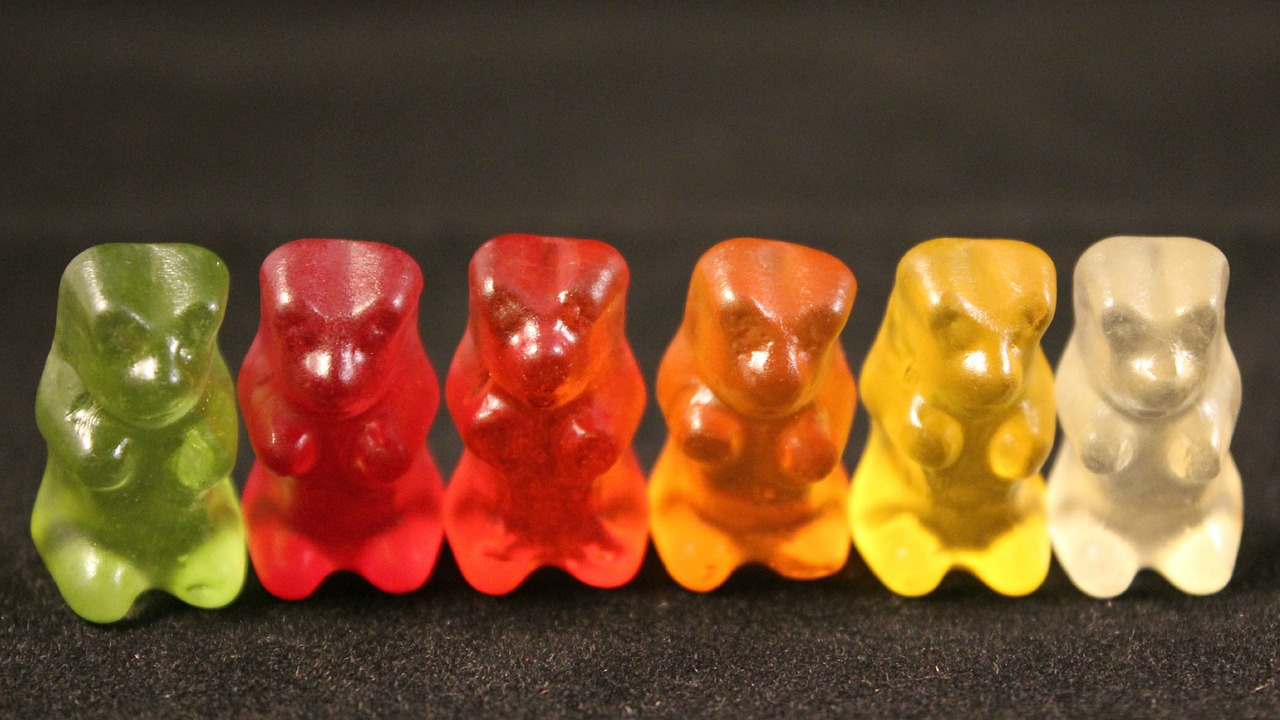 animals shaped sweets