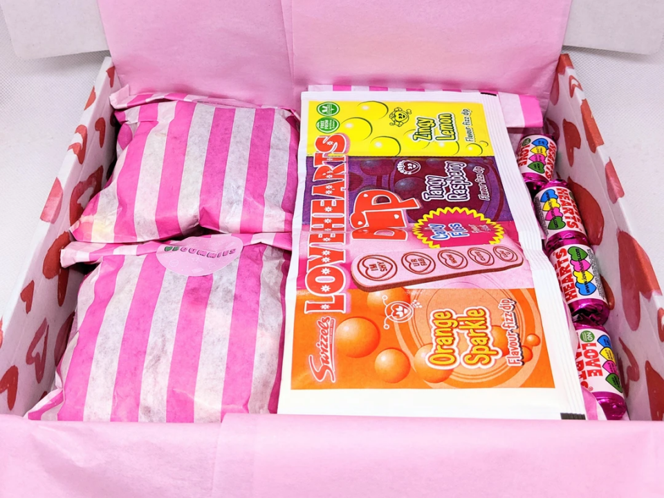 Love Hearts Sweets Box