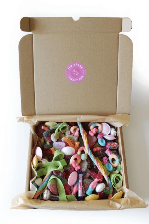 mixed vegan sweets box
