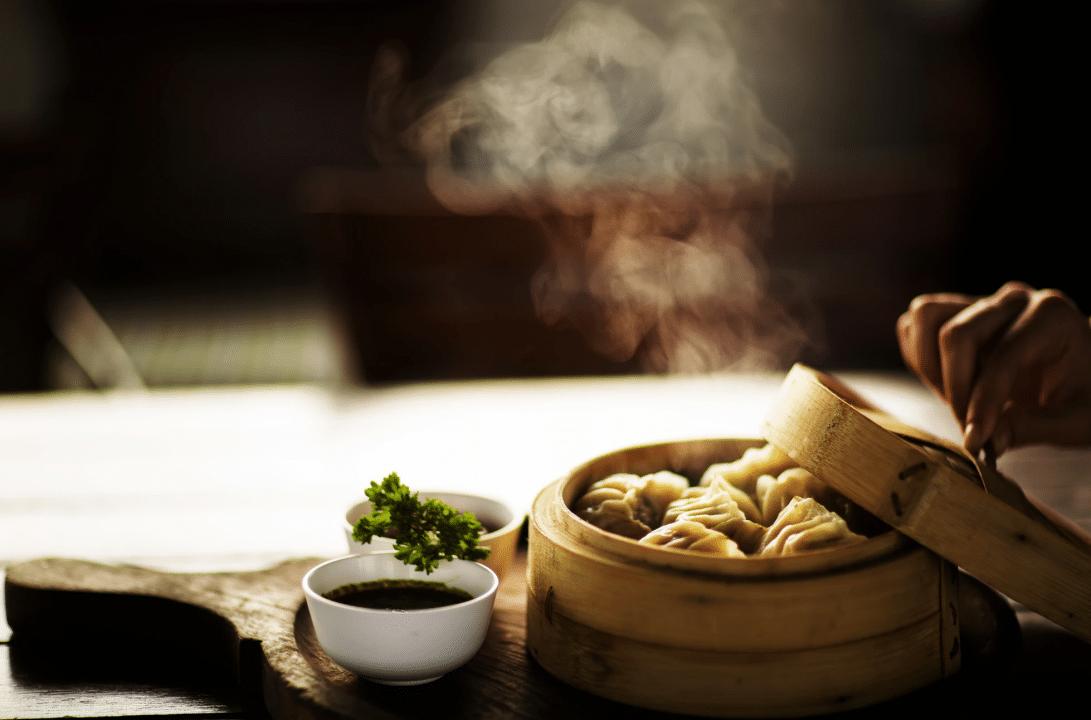 chinese vegan dish