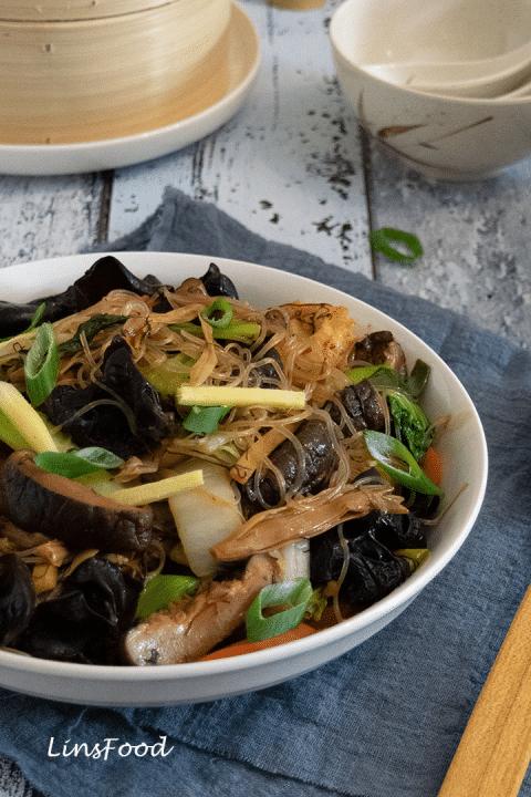 chinese new year vegan dishes