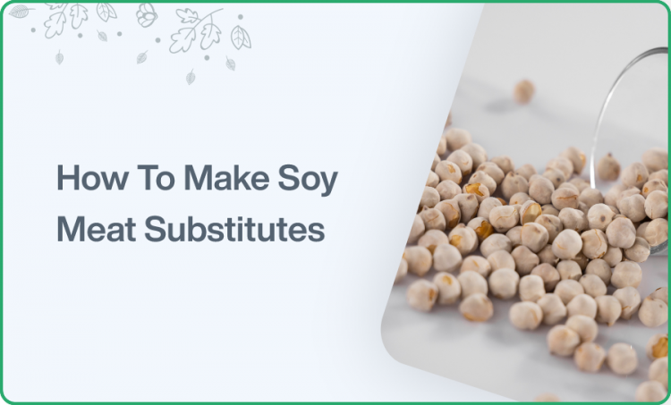 How to make soy meat substitute