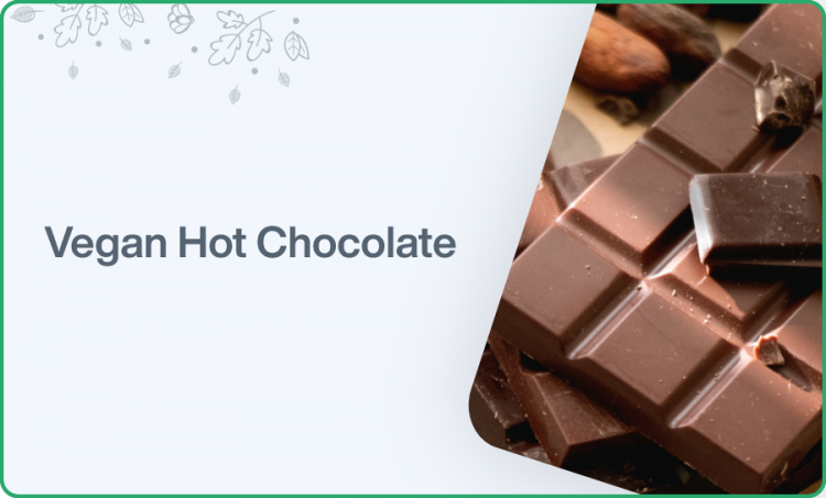 The Ultimate Vegan Hot Chocolate Recipe (With REAL Chocolate)