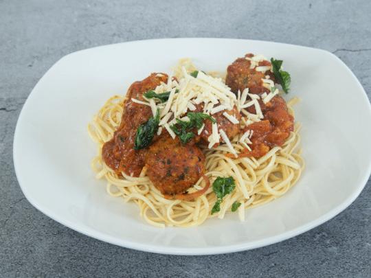 Spaghetti With Vegan Meatballs